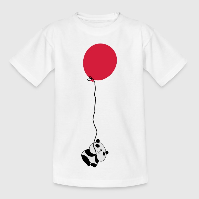 Panda Flying Balloon Shirts - Kids' T-Shirt
