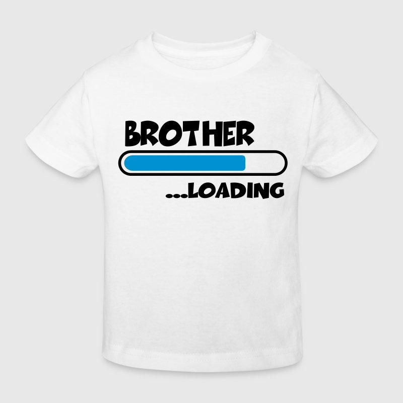 Brother loading T-shirts - Organic børne shirt