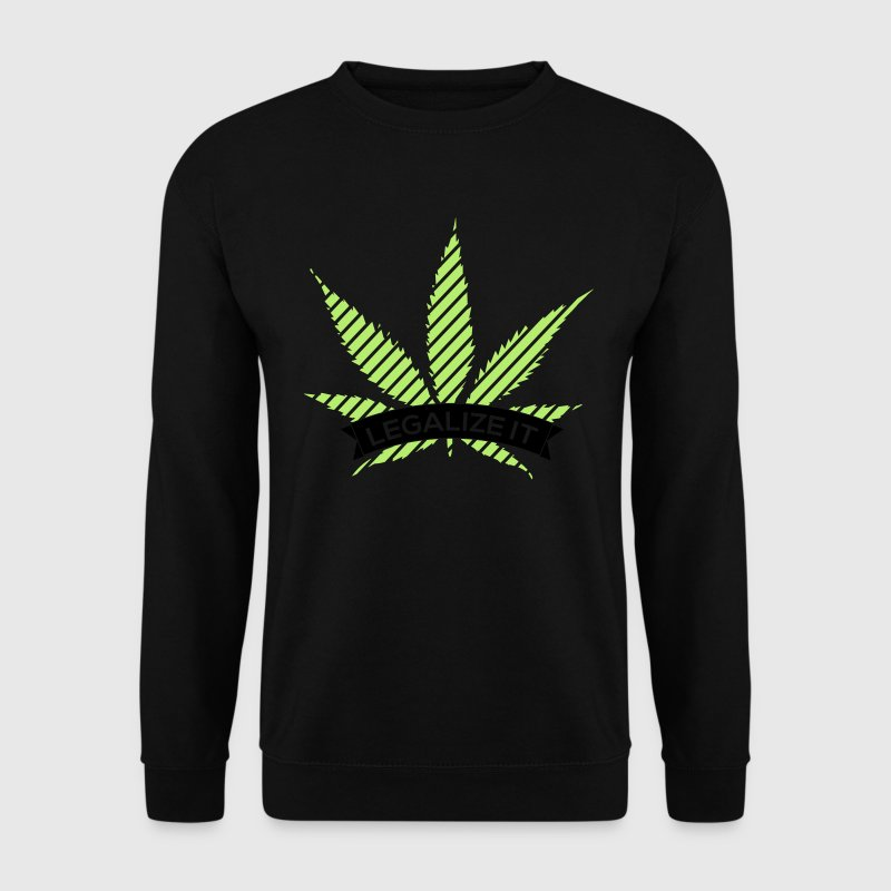 Legalize It Pullover & Hoodies - Männer Pullover