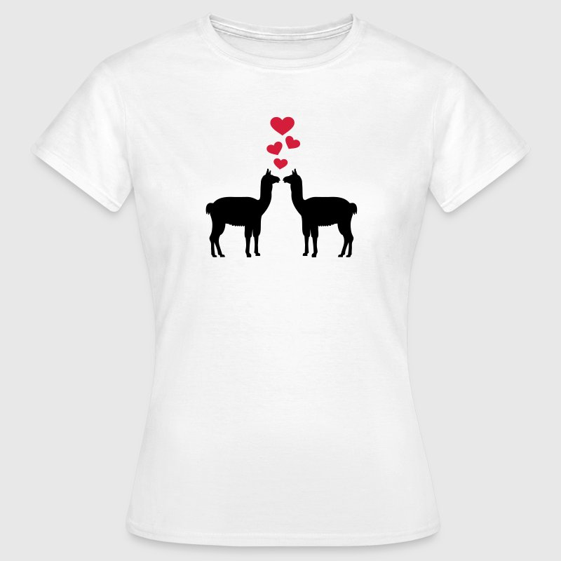 Lama T-Shirts - Frauen T-Shirt