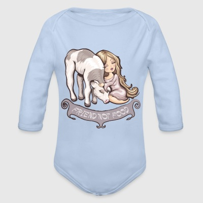 Raspberry friend not food Baby Bodysuits - Longsleeve Baby Bodysuit