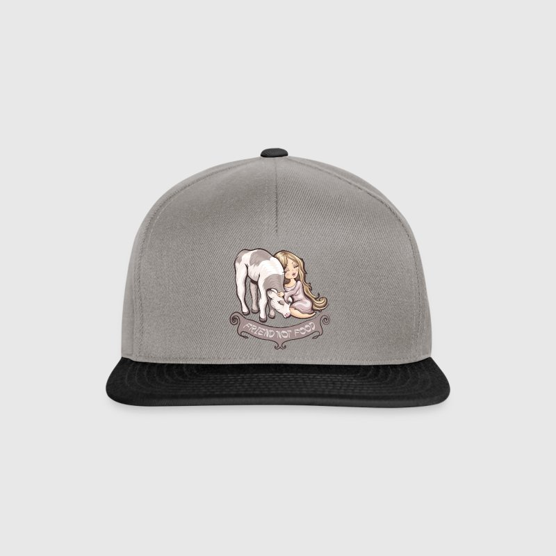 Friend not Food Casquettes et bonnets - Casquette snapback