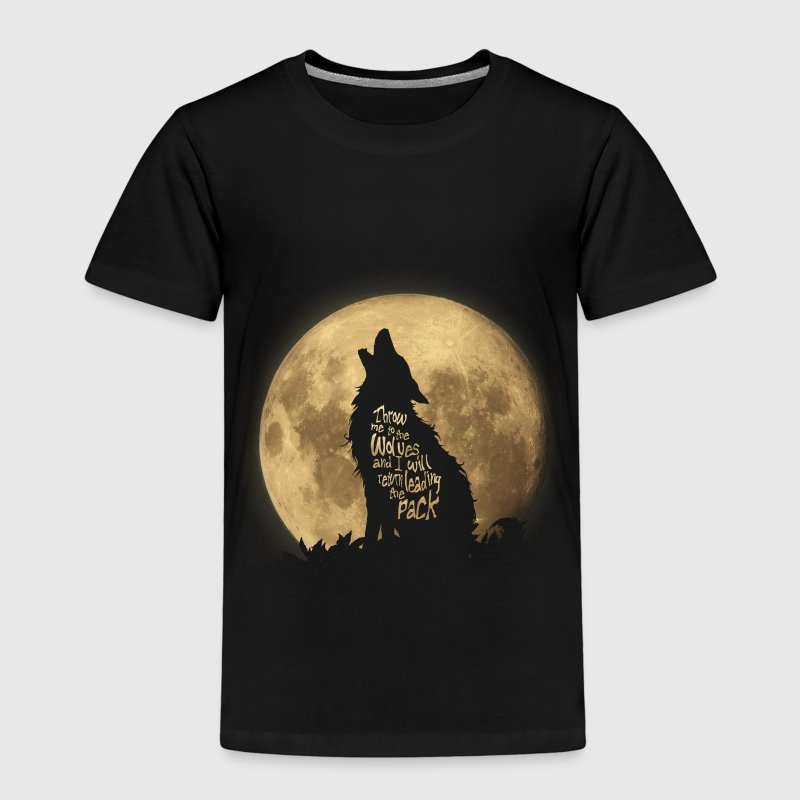 Throw me to the Wolves Paidat - Lasten premium t-paita