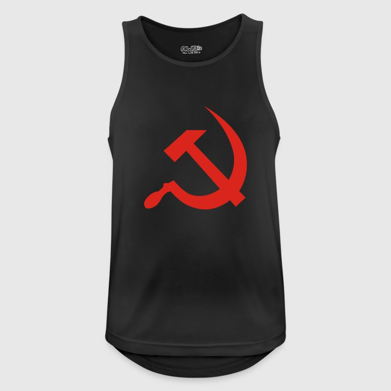 hammer and sickle / soviet union / russia Vêtements de sport - Débardeur respirant Homme