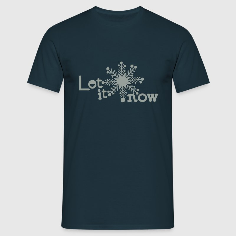 Let is now holidays typo Men's T-Shirt - Men's T-Shirt