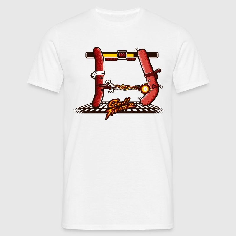 Barbecue fighter - T-shirt Homme