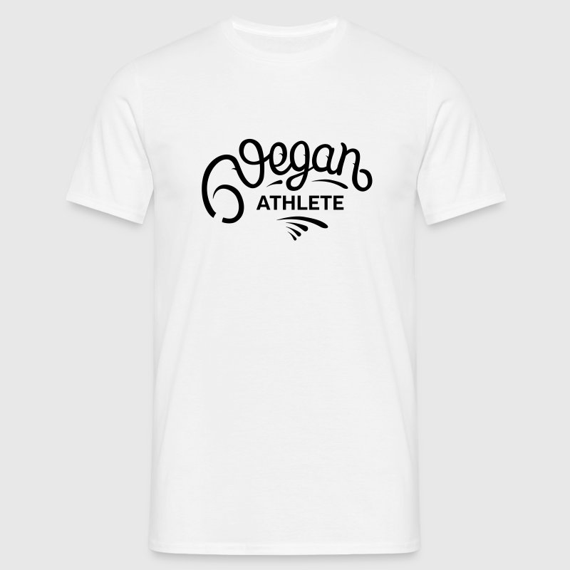 Vegan Athlete T-Shirts - Männer T-Shirt