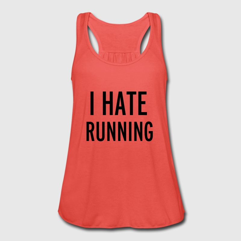 Hate Running Tops - Women's Tank Top by Bella