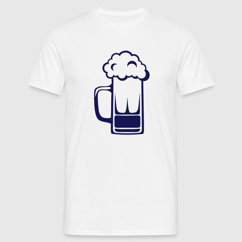 biere dessin alcool chope mousse 41710 Tee shirts - T-shirt Homme