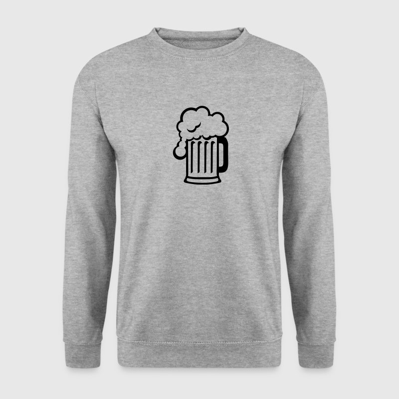 biere dessin alcool chope mousse 1710 Sweat-shirts - Sweat-shirt Homme