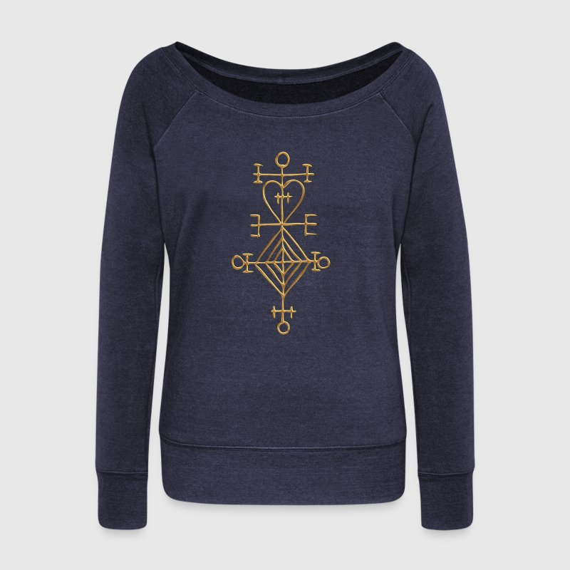 Ástarstafur, Love Charm, Magic Rune Amulet Sweat-shirts - Pull Femme col bateau de Bella