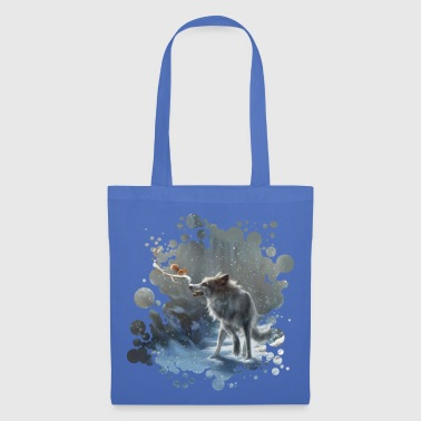 White winter wolf Mugs & Drinkware - Tote Bag