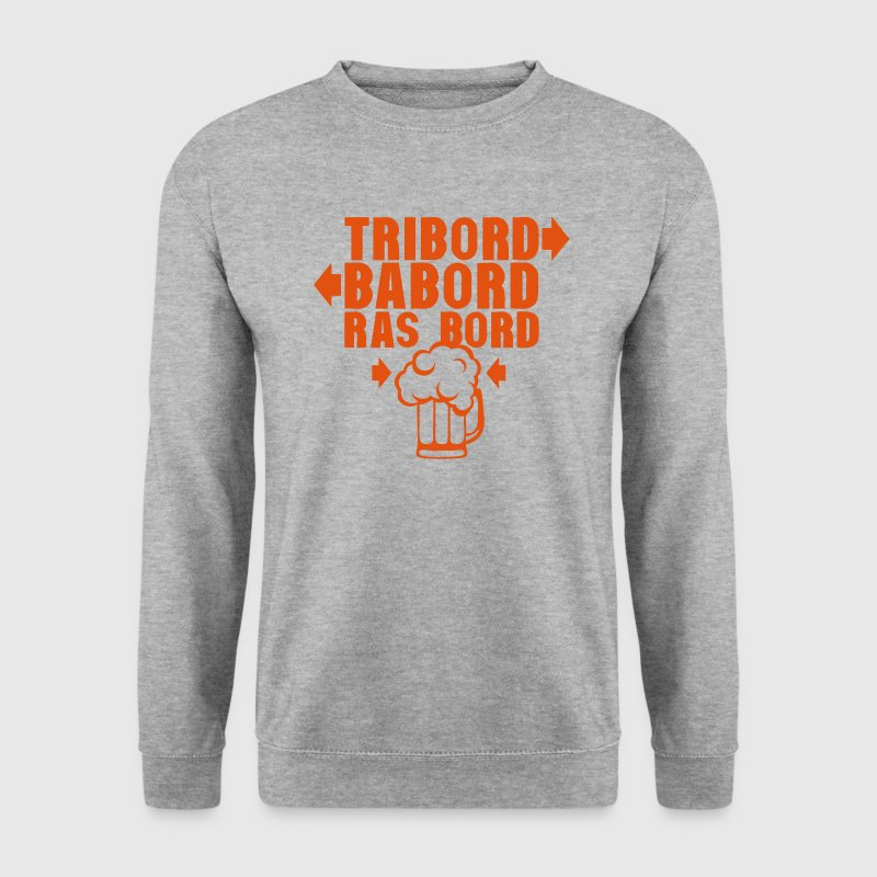 tribord babord ras bord biere alcool 1 Sweat-shirts - Sweat-shirt Homme