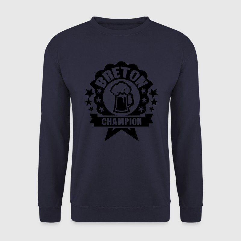 breton champion biere alcool logo picole Sweat-shirts - Sweat-shirt Homme