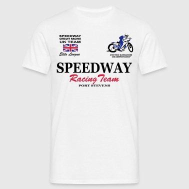 Speedway Poloshirt UK-Team Poloshirts - Männer T-Shirt