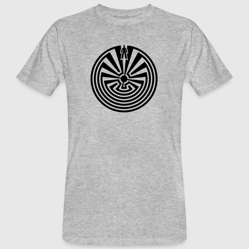 I'itoi, Man in the Maze, Papago Indians, Journey Magliette - T-shirt ecologica da uomo