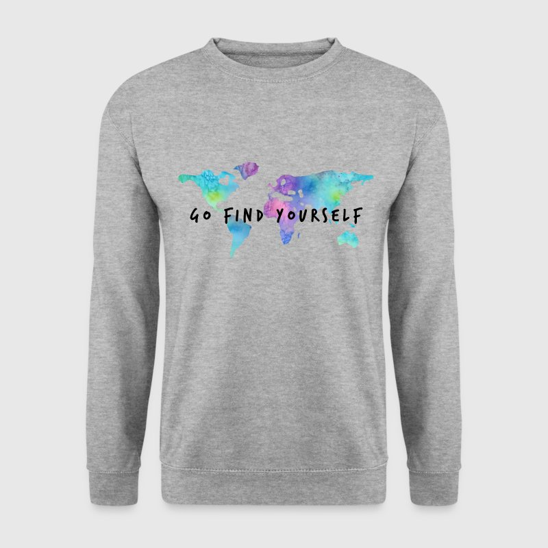 Go Find Yourself - Travel The World Pullover & Hoodies - Männer Pullover
