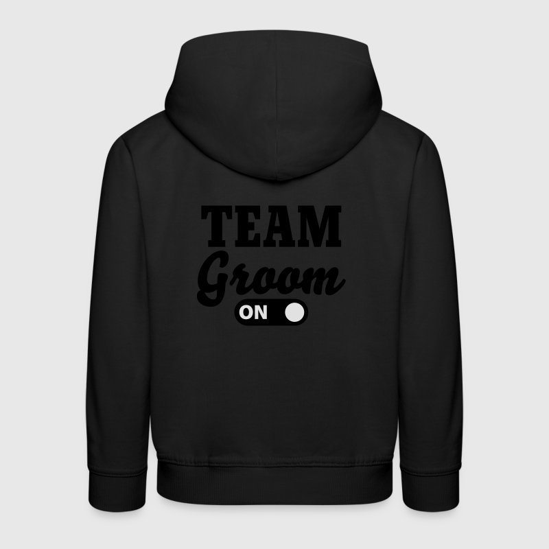 Team Groom on Felpe - Felpa con cappuccio Premium per bambini