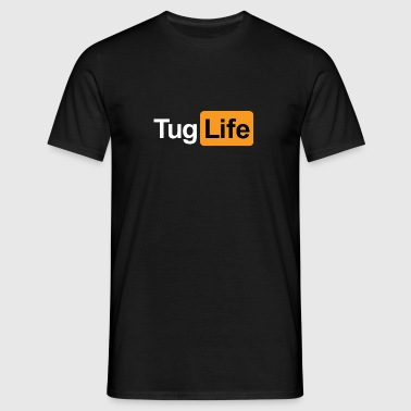 Tug Life - Porn Addict Tank Tops - Men's T-Shirt