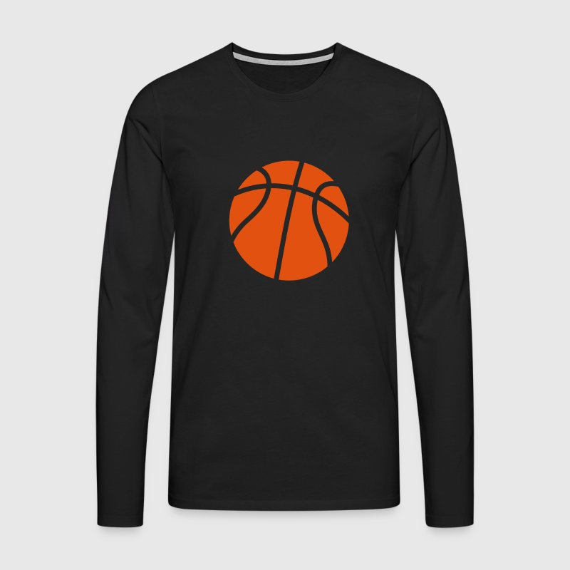 Basketball Ball Sports icon clipart T-Shirts  Long sleeve shirts - Men's Premium Longsleeve Shirt