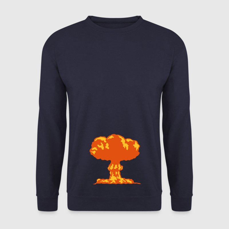 explosion champignon nucleaire atomique Sweat-shirts - Sweat-shirt Homme