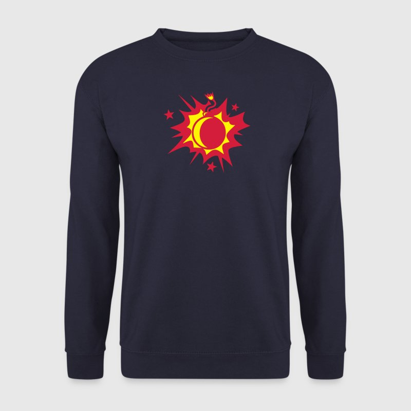 bombe explose dessin 1909 Sweat-shirts - Sweat-shirt Homme