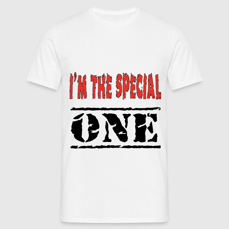 I'am the the special one T-Shirts - Men's T-Shirt