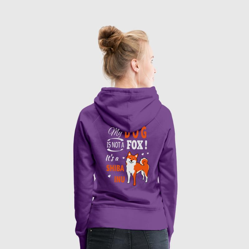 Shiba Inu fox Sweat-shirts - Sweat-shirt à capuche Premium pour femmes