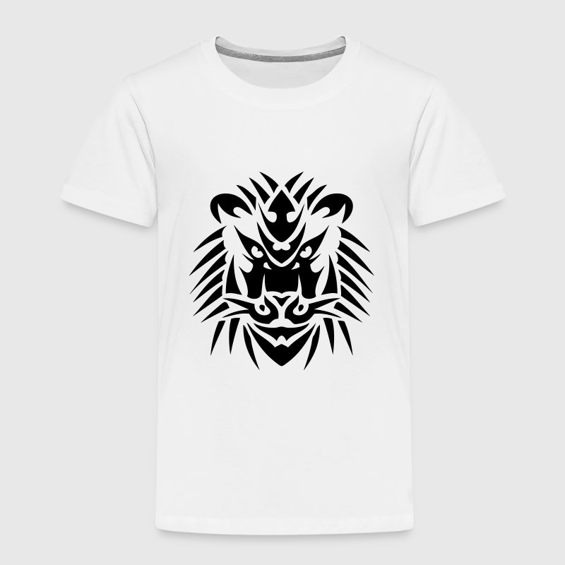 Tribal Löwe Tattoo 19093 T-Shirts - Kinder Premium T-Shirt