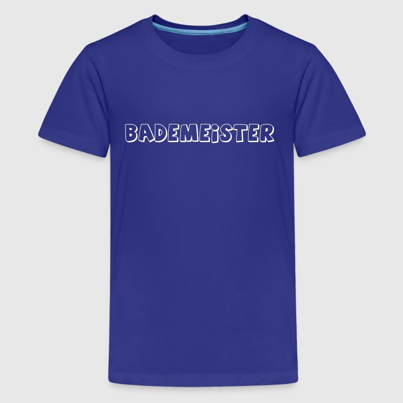 Bademeister Schwimmbad T-Shirts - Teenager Premium T-Shirt