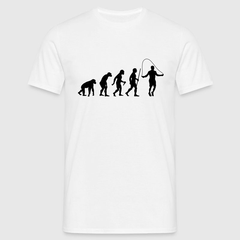 Evolution Rope Skipping T-Shirts - Männer T-Shirt