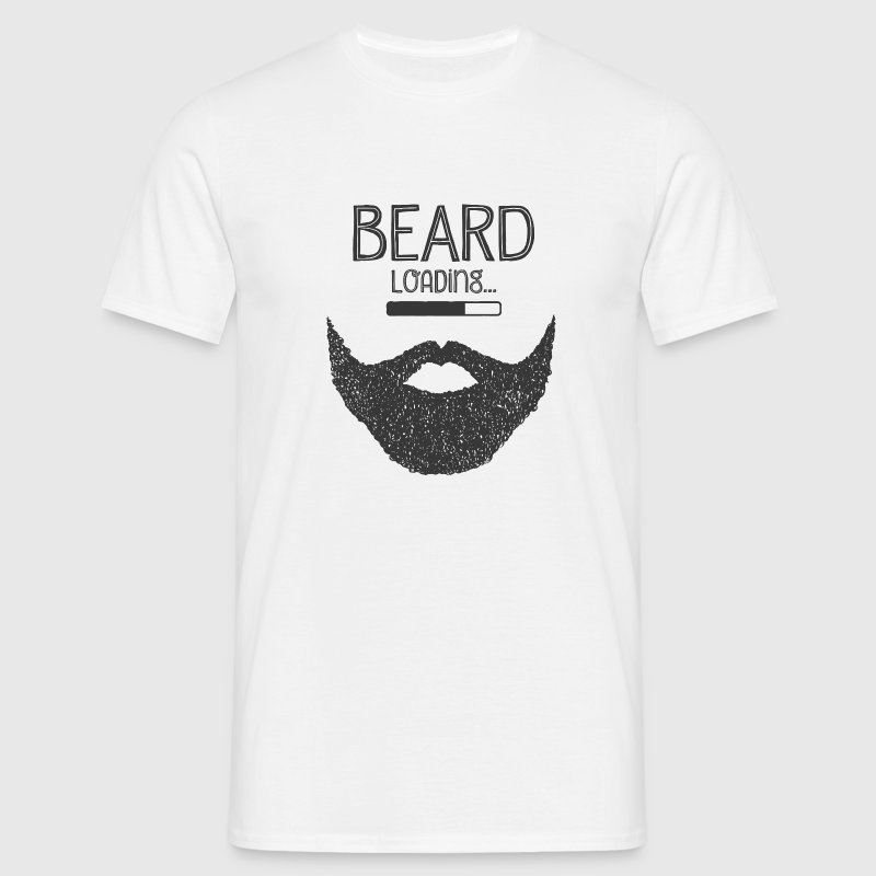 Beard Loading... T-Shirts - Men's T-Shirt