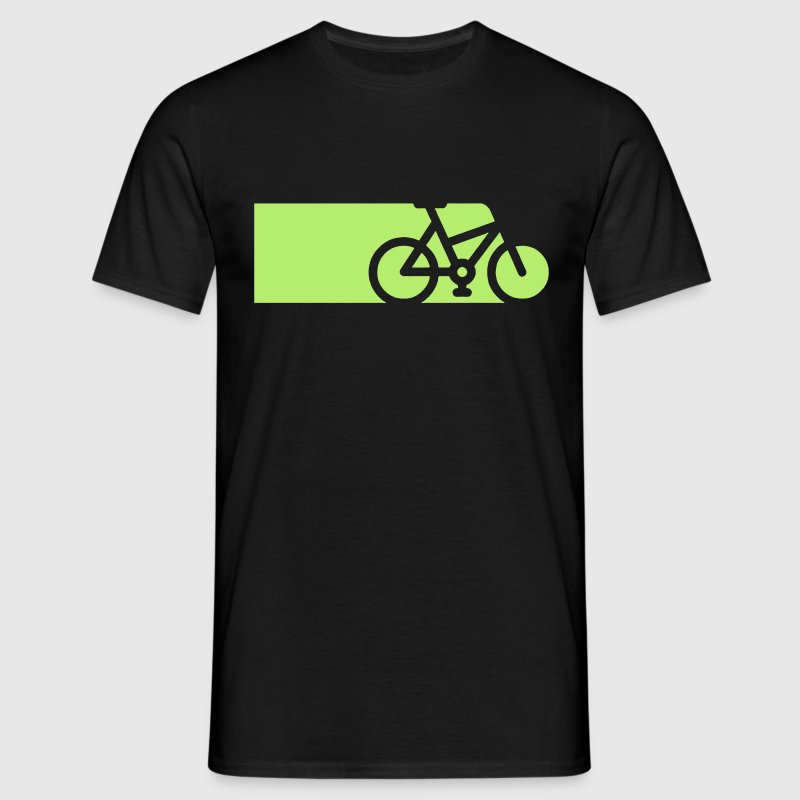 Bike Zoom Tron Style T-Shirts - Men's T-Shirt