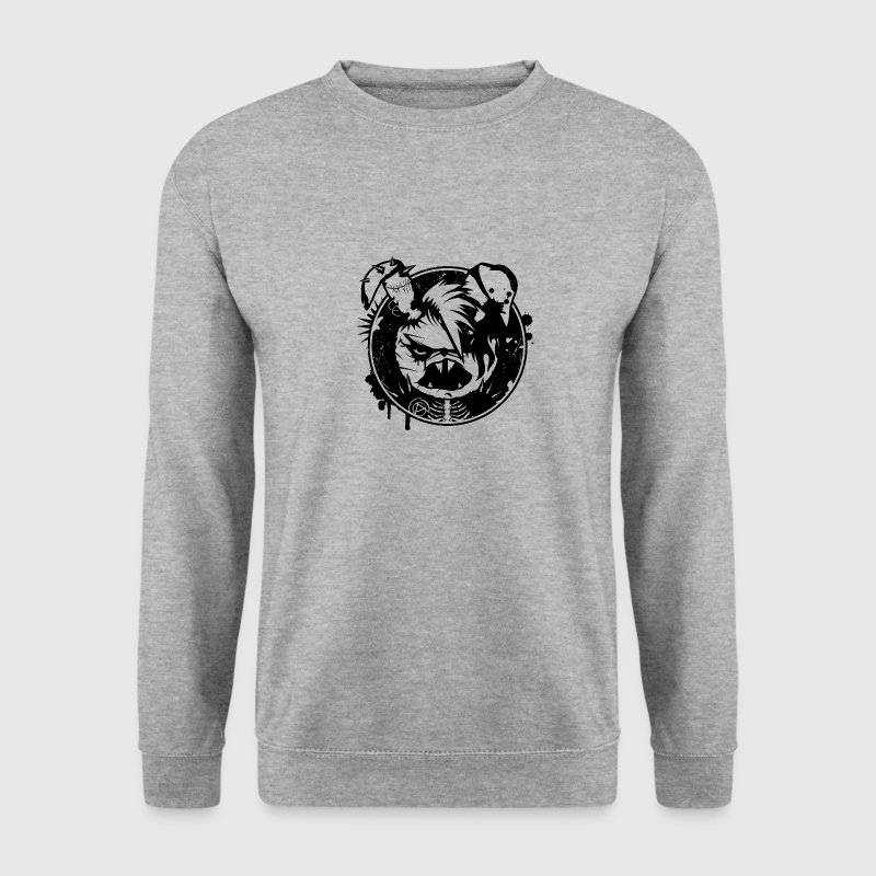 Punk Autocollant de lapin Sweat-shirts - Sweat-shirt Homme