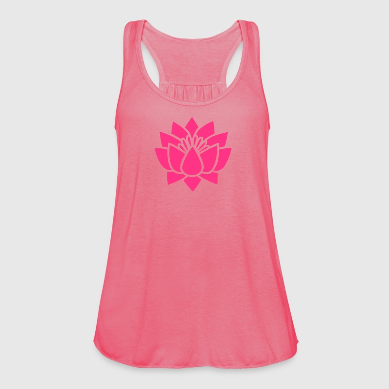 Lotus flower, Symbol of wisdom and enlightenment Toppe - Dame tanktop fra Bella