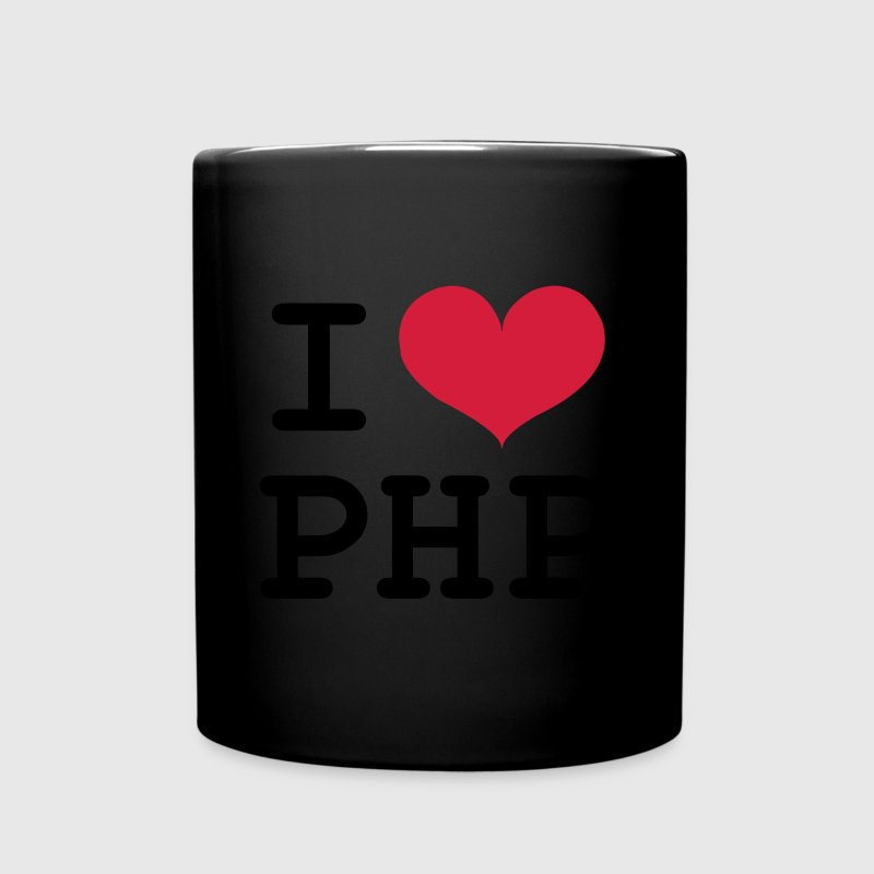 I Love PHP [Developer / Geek] Mugs & Drinkware - Full Colour Mug