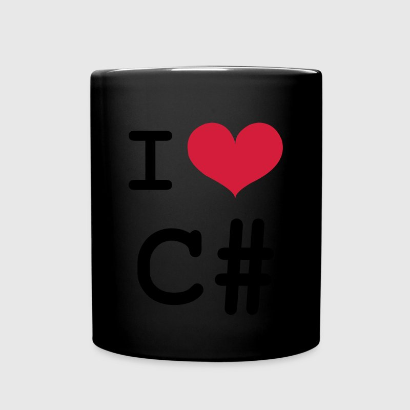 I Love C# [Developer / Geek] Tazas y accesorios - Taza de un color