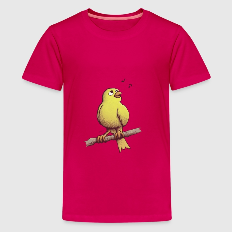 Kanarienvogel T-Shirts - Teenager Premium T-Shirt