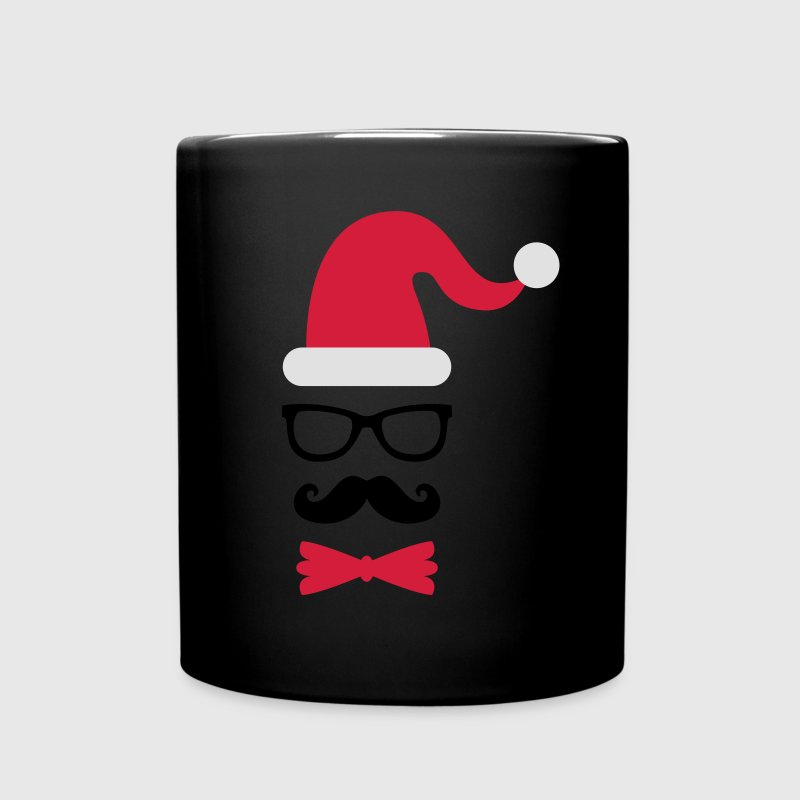 hipster weihnachtsmann shirt selbst gestalten tasse spreadshirt. Black Bedroom Furniture Sets. Home Design Ideas