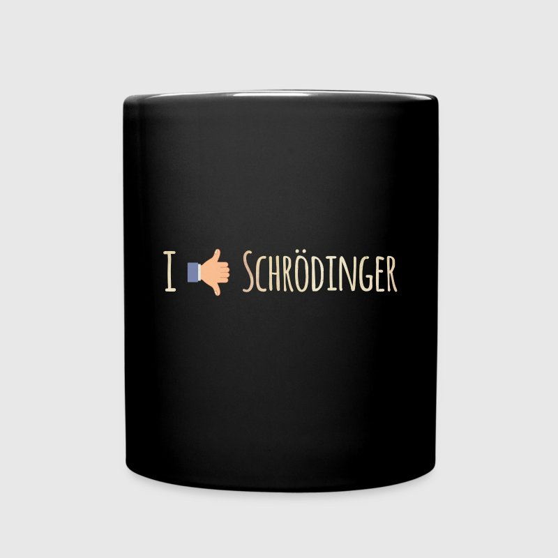 I Like / Dislike Schrödinger - Funny Physics Geek Mugs & Drinkware - Full Colour Mug