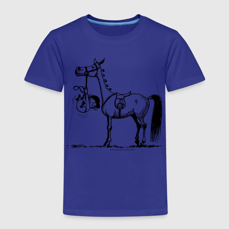 Stubborn Pony Thelwell Cartoon Shirts - Kids' Premium T-Shirt