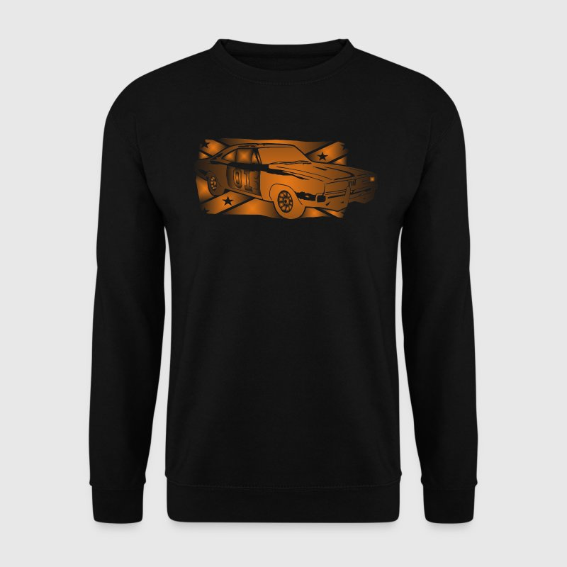 General Lee Dodge Charger Flagge - Männer Pullover