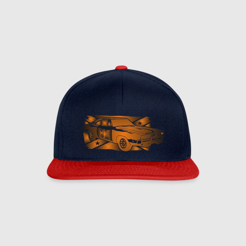 General Lee Dodge Charger Flagge - Snapback Cap