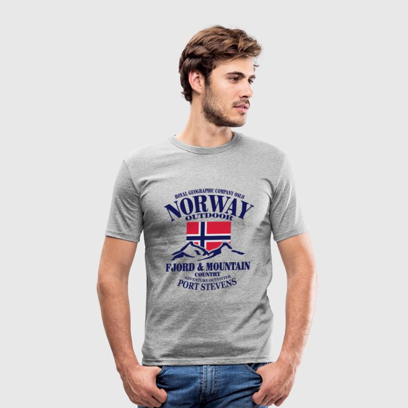 Norway - Fjord & Mountain T-shirts - slim fit T-shirt