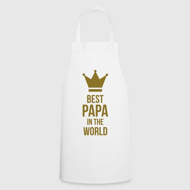 Best Papa in the world !  Aprons - Cooking Apron