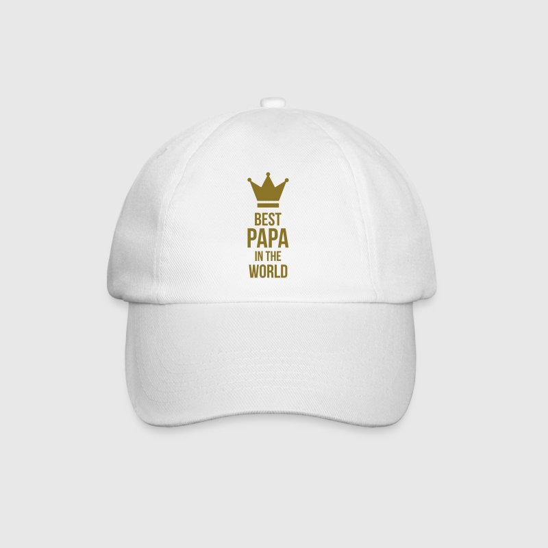 Best Papa in the world ! Caps & Hats - Baseball Cap