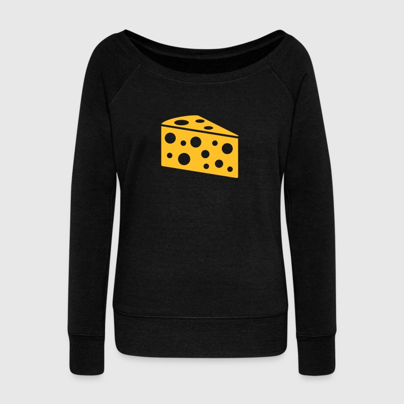 Fromage Sweat-shirts - Pull Femme col bateau de Bella