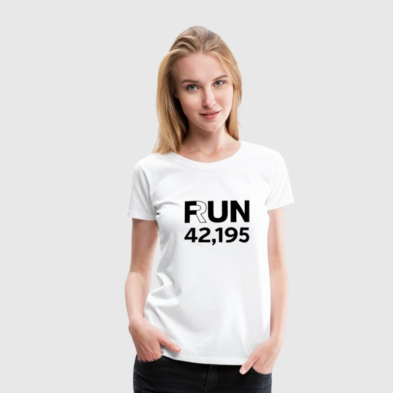 Fun / Run 24,196 (Marathon Distance) T-shirts - Vrouwen Premium T-shirt