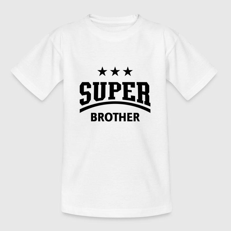 Super Brother Shirts - Teenage T-shirt