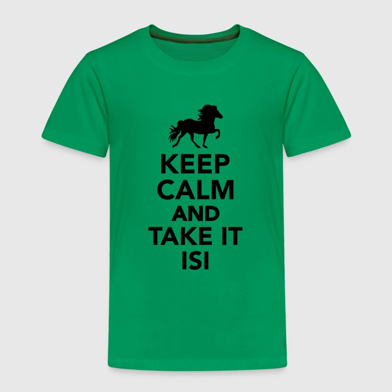 Keep calm and take it Isi T-Shirts - Kinder Premium T-Shirt